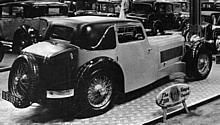 Jaguar Series I 20 hp SS1 Coupe