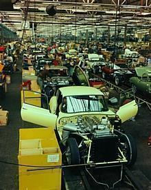 E-Type Production: ca. 1967
