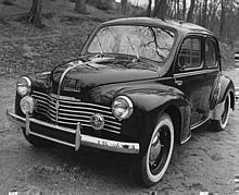 Renault 4 CV Grand Luxe