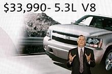 Chevrolet General Manager Ed Peper announces aggressive new pricing on all Chevy models.