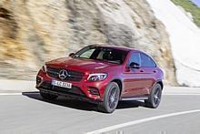 Mercedes-Benz GLC 350d 4Matic Coupé.  Foto:Hersteller