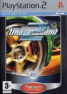 PS2 Platinum: Need for Speed Underground 2