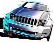 The Jeep Trailhawk concept merges the spectrum of the Jeep brand by combining the core features of the Jeep Wrangler with the sophistication of the Jeep Grand Cherokee.