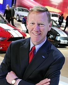 Alan Mulally, President and Chief Executive Officer, Ford Motor Company.