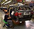 BMW Spartanburg Plant, South Carolina / USA: BMW X5 production.