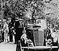 King George & Queen Elizabeth of England and a 1939 Lincoln Model K.